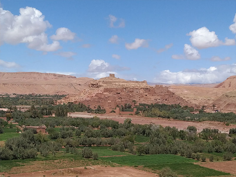 ouarzazate – kasbah ait ben haddou – marrakech