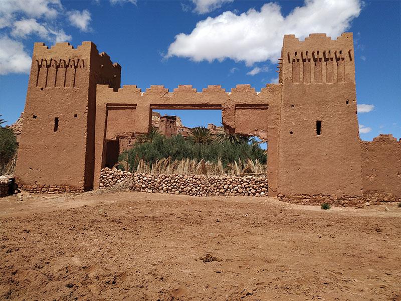 ouarzazate kasbah taourirt high atlas marrakech