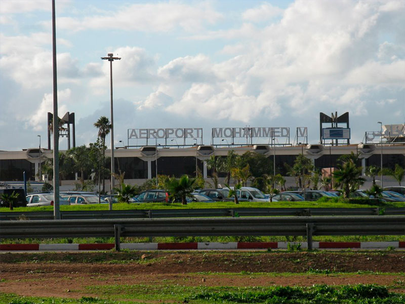 Mohamed v airport