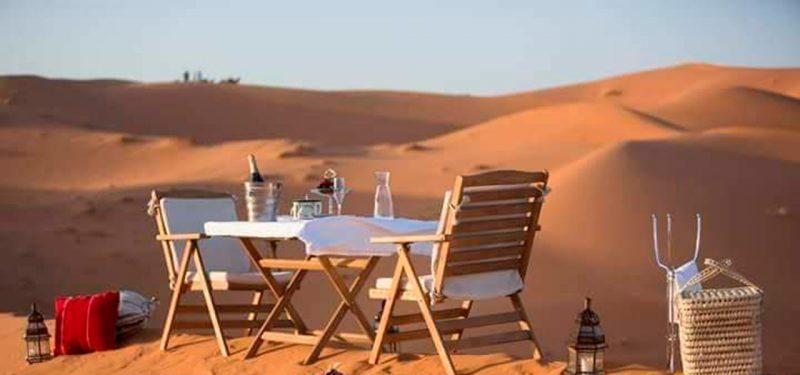 al desierto de merzouga